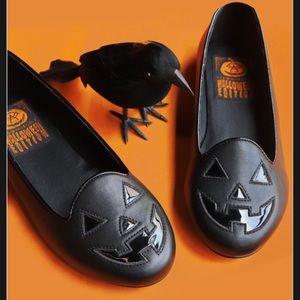 Foxblood/Strange Cvlt All Black Pumpkin Flats (9)